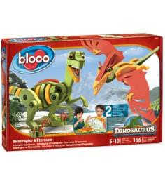 Bloco Велоцераптор и Птерозавр 30131