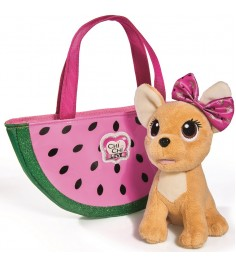 Собачка Chi Chi Love фруктовая мода с сумочкой 5893116