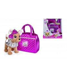 Мягкая игрушка Simba Chi Chi Love Гламур с розовой сумочкой и бантом 5893125