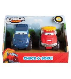 Машинка Чак и его друзья Чак и Соку 5 см 2 шт 92741