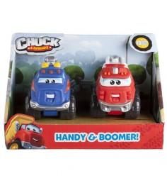Машинка Чак и его друзья Хэнди и Бумер 5 см 2 шт 92744