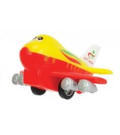Самолет Dickie красный с желтым 3345475