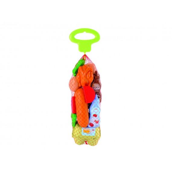 Игрушка для супермаркета Набор продуктов в сетке 950 Ecoiffier