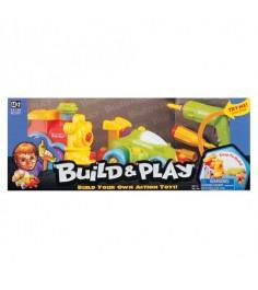 Игровой набор Keenway Build and Play паровозик и машинка 11861