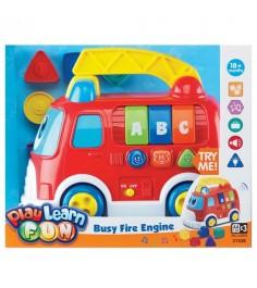 Музыкальный сортер Keenway Пожарная машина 31526