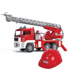 Пожарная машина MAN с каской Bruder 01-981