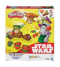 Детский пластилин play doh Транспортные средства героев Звездных войн в ассортименте B0001
