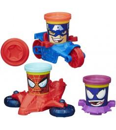 Игровой набор пластилина Hasbro Play Doh Транспортные средства героев Марвел B0606