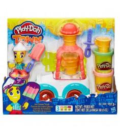 Игровой набор пластилина Hasbro Play Doh Грузовичок с мороженым B3417