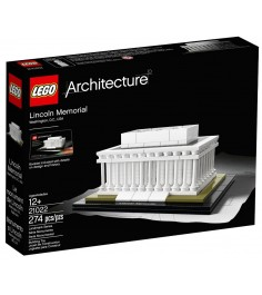 Конструктор Lego Architecture Мемориал Линкольна 21022