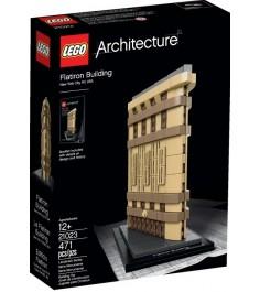 Конструктор Lego Architecture Флэтайрон билдинг 21023