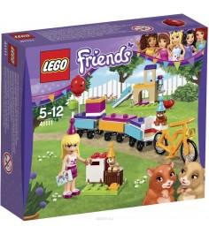 Lego Friends день рождения велосипед 41111
