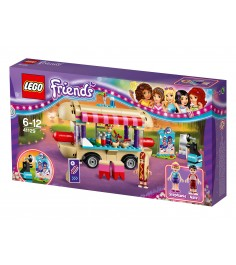 Lego Friends Парк развлечений фургон с хот догами 41129