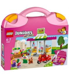 Lego Juniors Чемоданчик Супермаркет 10684