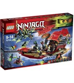 Lego Ninjago Корабль Дар Судьбы Решающая битва 70738