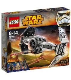 Lego Star Wars Улучшенный Прототип TIE Истребителя 75082