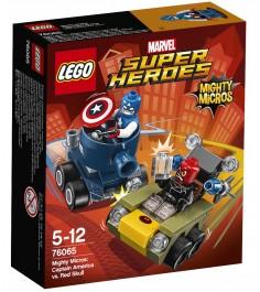 Lego Super Heroes Капитан Америка против Красного Черепа 76065