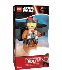 Налобный фонарик Lego Star Wars Poe Dameron LGL-HE17