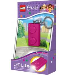 Брелок фонарик Lego Кубик Lego Friends LGL-KE52F