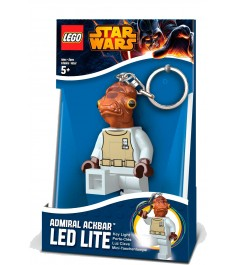 Брелок фонарик для ключей Star Wars Адмирал Акбар LGL-KE59