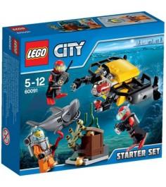 Lego City набор для начинающих Исследование морских глубин 60091
