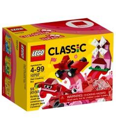 Lego Classic Красный набор для творчества 10707
