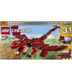 Lego Creator Огнедышащий дракон 31032
