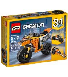 Lego Creator Жёлтый мотоцикл 31059