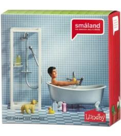 Набор кукольной мебели Lundby Смоланд Ванная и душевая LB_60208900