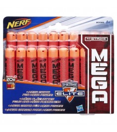 Nerf Комплект стрел мега 20 штук B0085