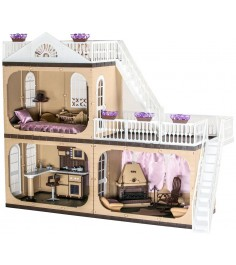 Кукольный домик Огонек коллекция без мебели С-1292