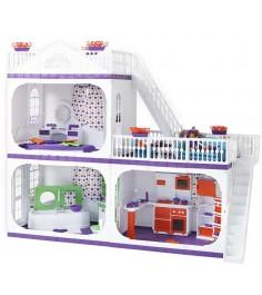 Кукольный домик Огонек конфетти без мебели С-1330
