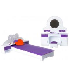 Набор мебели для спальни Огонек конфетти С-1331