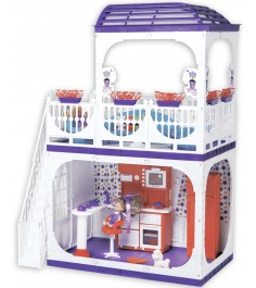 Кукольный домик Огонек barbie конфетти С-1334