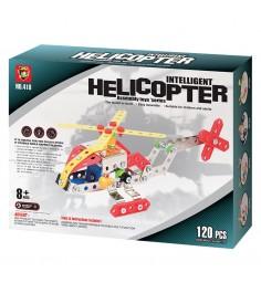 Конструктор Origami вертолет 120 деталей 00627