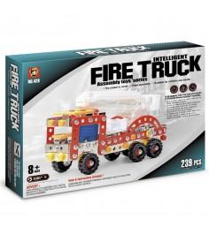 Конструктор Origami пожарная машина 239 деталей 02283