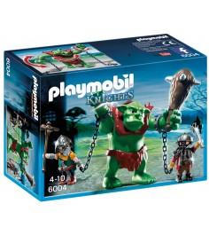 Playmobil Рыцари Гигантский тролль и боевые гномы 6004pm