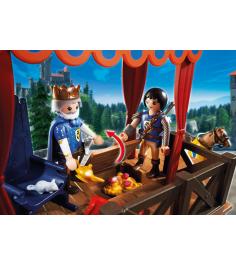 Супер4 Playmobil королевская трибуна с Алексом 6695pm