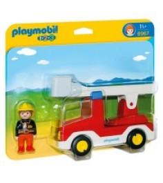 Набор Рlaymobil Пожарная машина с лестницей 6967pm