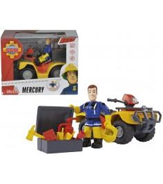 Игровой набор Пожарный Сэм Квадроцикл Меркурий 9257657
