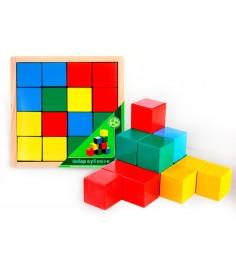 Развивающие кубики Престиж игрушка Цветные АЦ2200