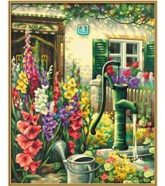 Раскраска по номерам Schipper Цветник у дома 9130632