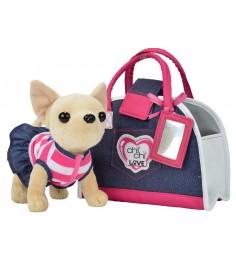 Собачка Chi Chi Love Чихуахуа Джинсовый стиль с сумкой 5890599