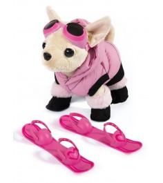 Собачка Chi Chi Love Чихуахуа в пуховике с лыжами 5894127