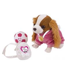 Собачка Chi Chi Love Кокер спаниель с рюкзаком медалью и мячиком 5894233