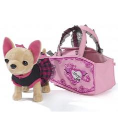 Собачка Chi Chi Love Вампирчик в платье с крылышками в сумочке 5894839