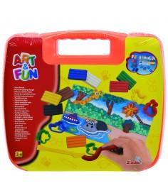 Набор для творчества Simba Art Fun в оранжевом чемоданчике 6330639