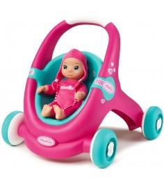 Коляска для куклы Smoby Minikiss 210202