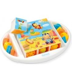 Кубики пазлы Smoby Cotoons 211385