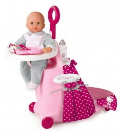 Стульчик для пупса в чемодане Smoby Hello Kitty 24268